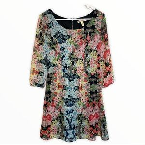 Accidentally in Love Floral Dress